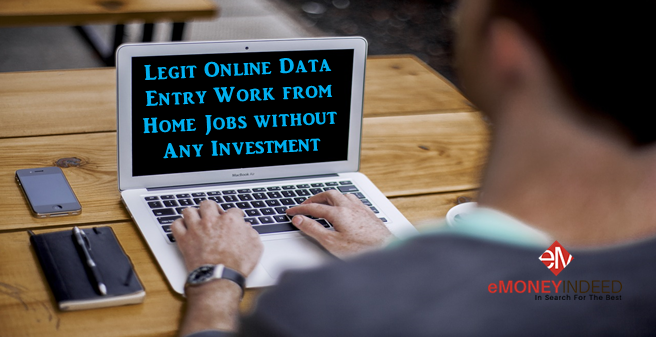 10 Legit Online Data Entry Work From Home Jobs Without Investment
